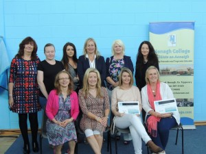 Office Admin – Some members of the QQI Office Administration Class 2015/16 with tutors Noreen Devitt, Catherine O'Keeffe and Course Co-ordinator, Kate O'Brien.
