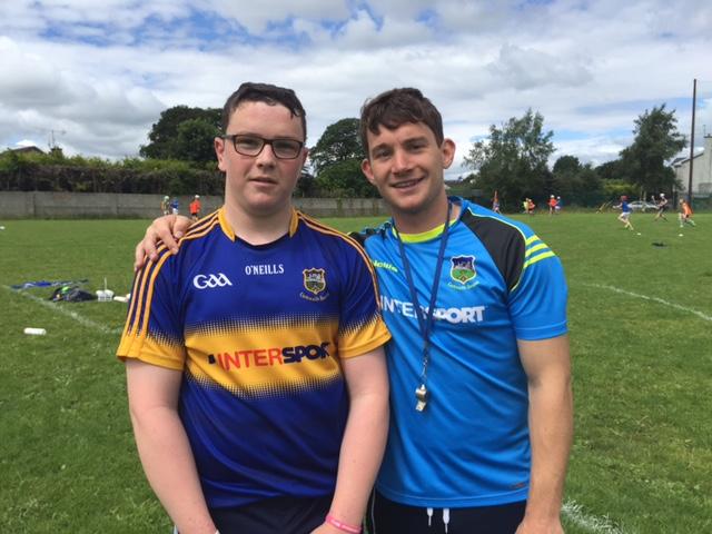 Conor O Sullivan with Niall O Mears